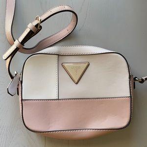 GUESS U.S.A. Multicolored Pink Purse Shoulder Bag
